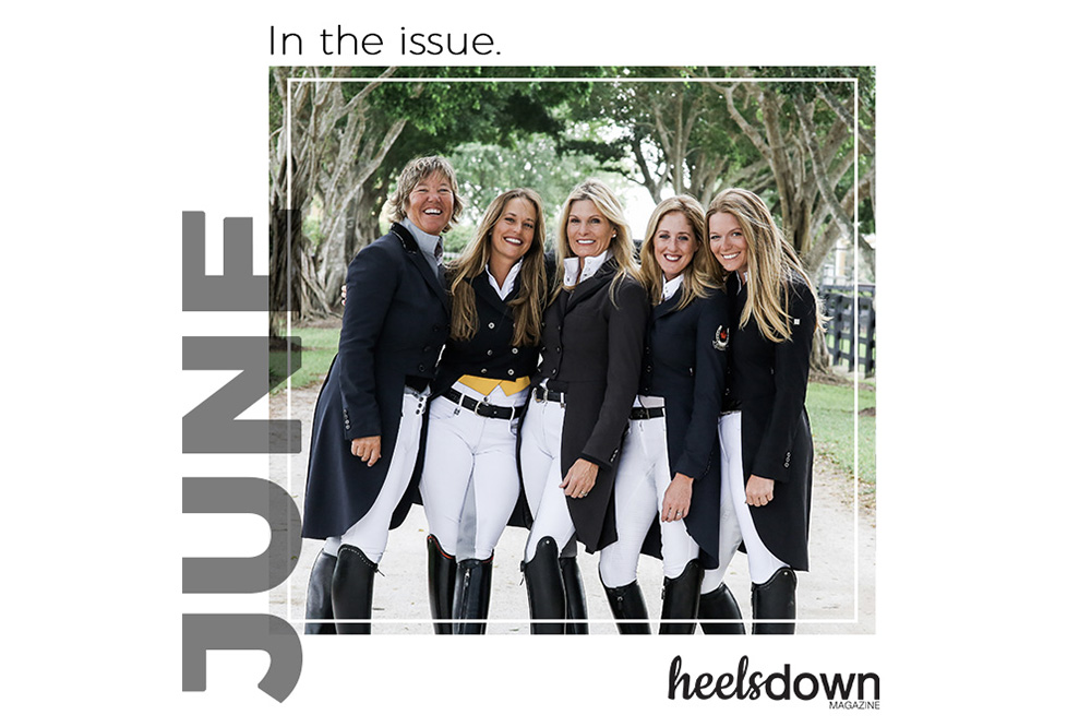 Creative Work: Announcing the June Issue of Heels Down Magazine